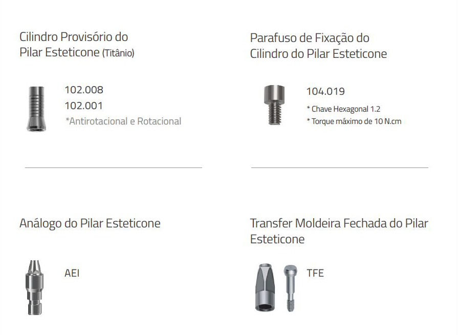 Pilar Esteticone Advanced HE